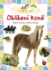 Oblíbení koně Nálepkový sešit