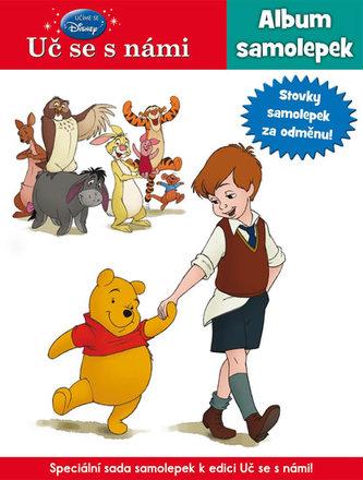 Uč se s námi - Medvídek Pú - Samolepky speciál