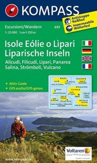 Isole Eolie o Lipari  693  NKOM 1:25T