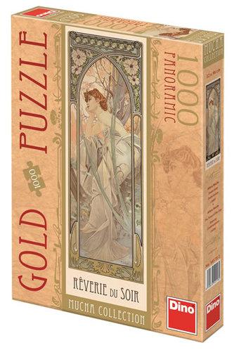Alfons Mucha - Snění večera - puzzle 1000 D