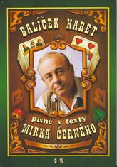 Balíček karet - písně s texty Mirka Černého