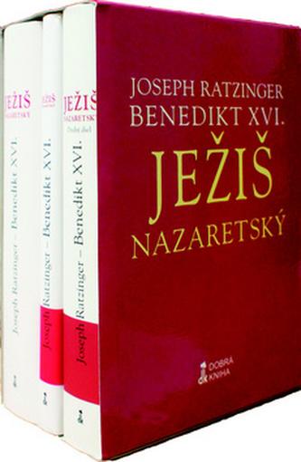 Komplet 3 ks Ježiš Nazaretský 1.- 3. diel