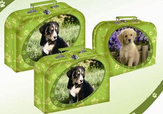 Kufřík pes 23 cm