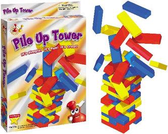 Postavte věž - cestovní hra
