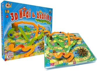 Hadi a žebříky 3D - Hra