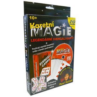 Karetní magie - Svengali karty + DVD