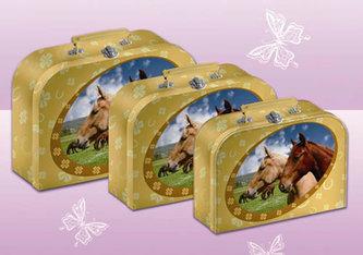 Kufřík kůň 23 cm