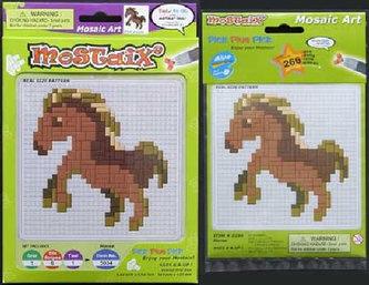 Mozaika malá - kůň - HM Studio