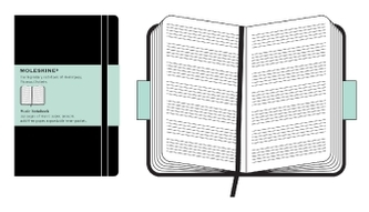 Moleskine Noten-Notizbuch (Pentagram Notebook)
