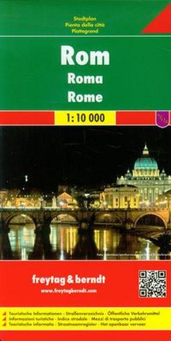 Rome 1:10 000 - plán města