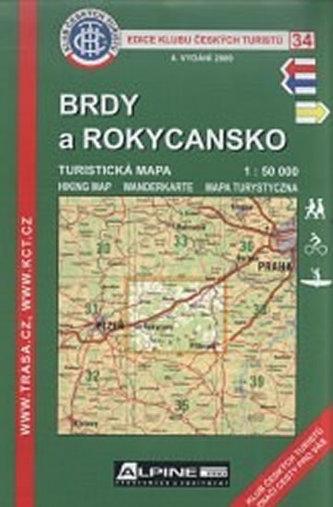 KČT 34 - Brdy a Rokycansko 4. vyd.