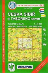 KČT 41 - Česká Sibiř a Táborsko