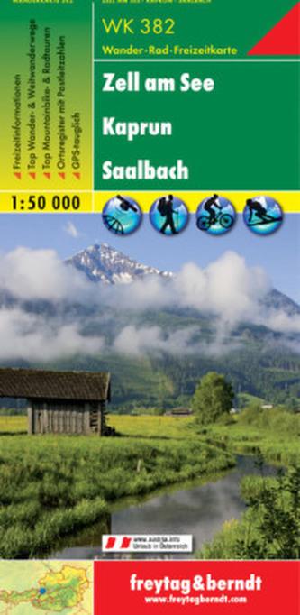 Freytag & Berndt Wander-, Rad- und Freizeitkarte Zell am See, Kaprun, Saalbach