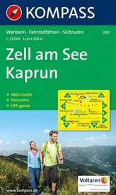 Kompass Karte Zell am See, Kaprun
