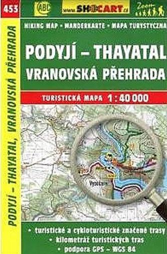 TM 1:40T 453 Podyjí - Thayatal Shocart
