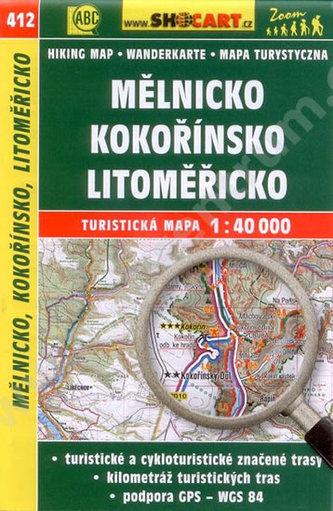 CTM Mělnicko Kokořínsko Litoměřicko 412 1:40T