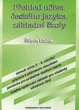 Přehled učiva českého jazyka základní školy