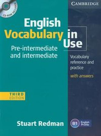 English Vocabulary in Use: Pre-intermediate and Intermediate with Answers and CD-ROM - Stuart Redman