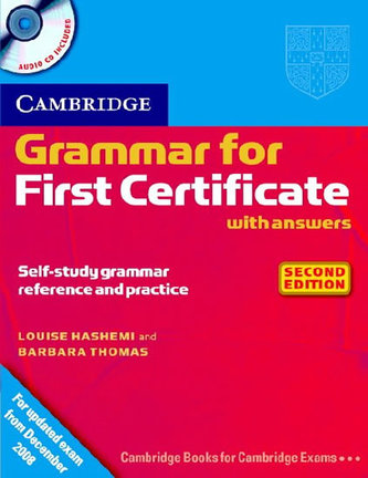 Grammar for First Certificate CD Second Edition