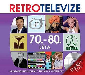 Retro televize - 70. - 80. léta - kniha + DVD - neuveden