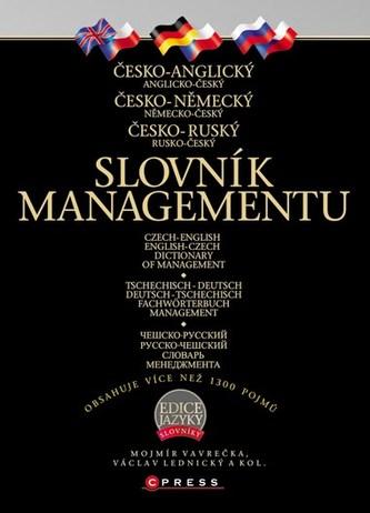 Kupte nyní všechny 3 slovníky managementu a ušetřete! - Kolektiv, Mojmír Vavrečka, Václav Lednický
