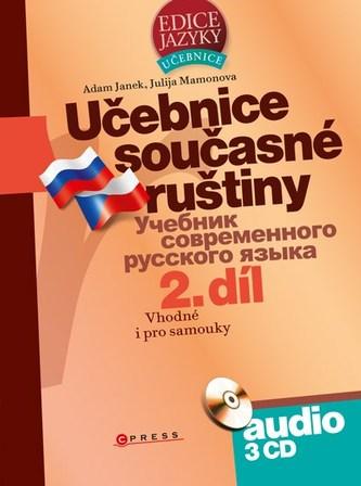 Učebnice současné ruštiny, 2. díl + audio CD - Adam Janek, Julija Mamonova