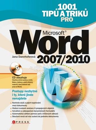 1001 tipů a triků pro Microsoft Word 2007/2010