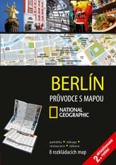 Berlín Průvodce s mapou National Geographic