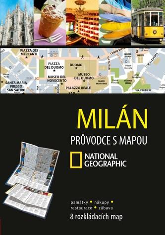 Milán Průvodce s mapou National Geographic