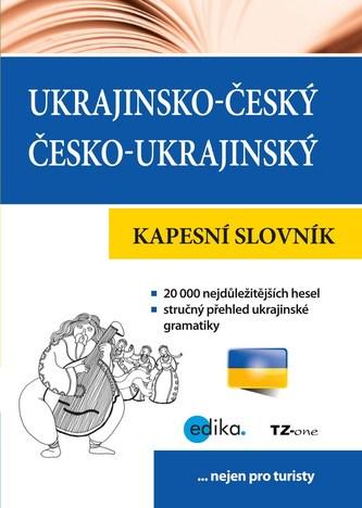 Ukrajinsko-český česko-ukrajinský kapesní slovník