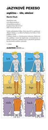 Jazykové pexeso - angličtina - tělo, oblečení