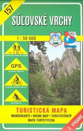 Súľovské vrchy 1:50 000