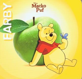 Macko Puf Farby