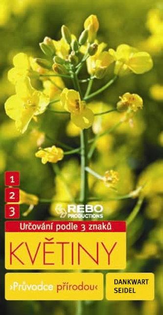 Květiny - Průvodce přírodou - 3 znaky - Klíč ka spolehlivému určování