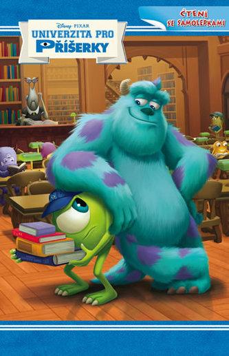 Monsters University - příběh + samolepky