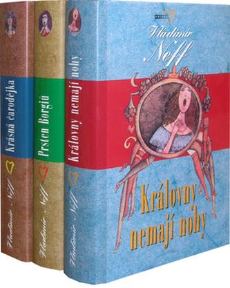 Balíček 3ks Královny nemají nohy + Prsten Borgiů + Krásná čarodějka
