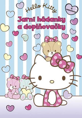 Hello Kitty - Jarní hádanky + samolepky