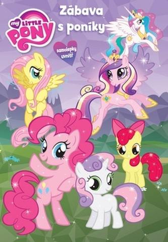 My Little Ponny - Zábavy s poníky - Kniha hádanek + omalovánky