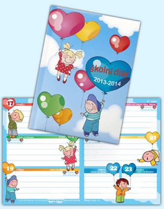 Školní diář 2013-2014 Love