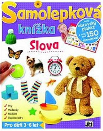 Slova - Samolepková knížka