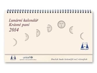 Krásná paní - Speciál Lunární kalendář 2014 - Kanyzová Žofie