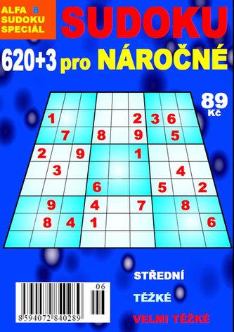 620+3 sudoku pro náročné