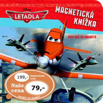 Letadla Magnetická knížka