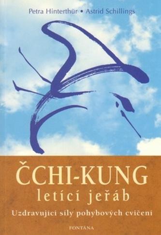 Čchi-kung letící jeřáb