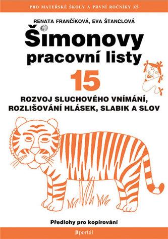 Šimonovy pracovní listy 15 - Eva Štanclová