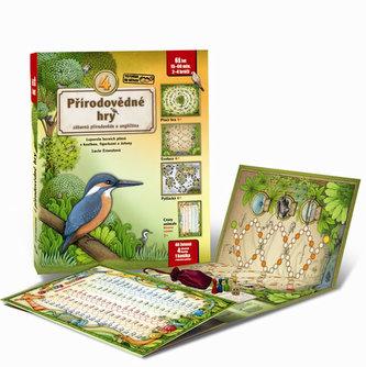 4 přírodovědné hry - Leporelo her s kostkou, figurkami a žetony, pro zábavné učení přírodopisu a angličtiny - Lucie Ernestová