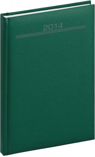 Diář 2014 - Capys - Týdenní A5, zelená