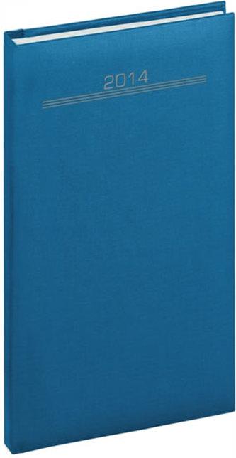 Diář 2014 - Capys - Kapesní, světle modrá