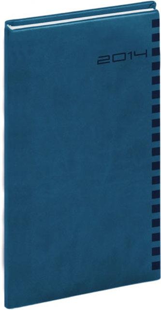 Diář 2014 - Ontario - kapesní, královská modrá