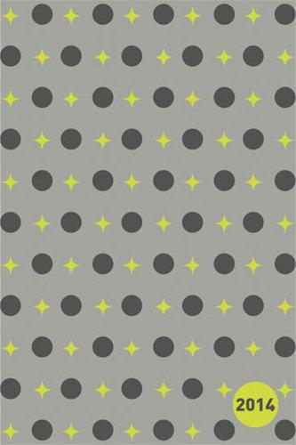 Diář 2014 - Hvězdy zelené - Týdenní magnetický